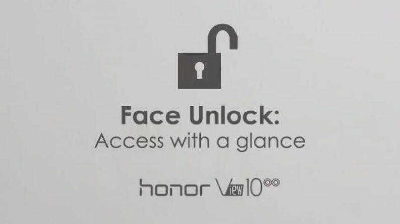 Honor View 10 Mula Menerima Fungsi Nyah-Kunci Menggunakan Wajah