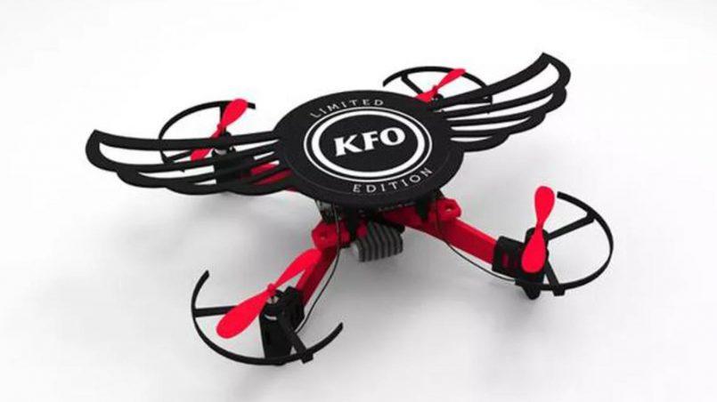 """KFC Melancarkan Dron """"Kentucky Flying Object"""" Di India"""