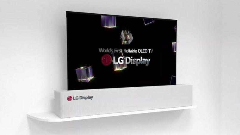 LG Memperlihatkan Skrin OLED 65 Inci Yang Boleh Digulung