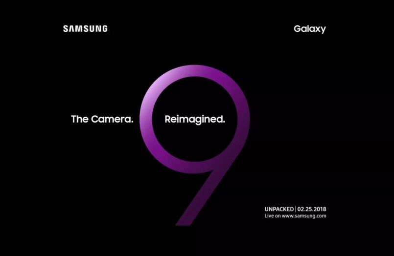 Samsung Galaxy S9 Akan Dilancarkan Pada 25 Februari 2018
