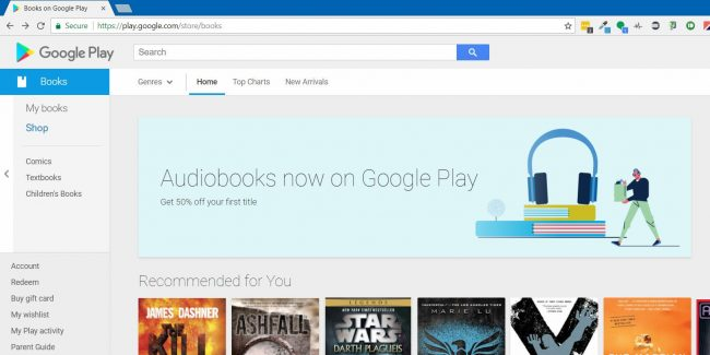 how to share my books on google play