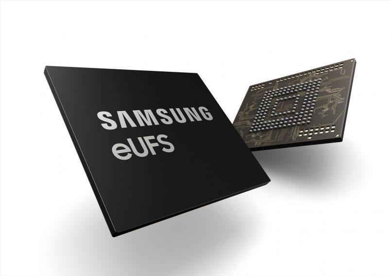 Samsung Memulakan Pengeluaran Storan UFS 256GB Untuk Industri Automotif