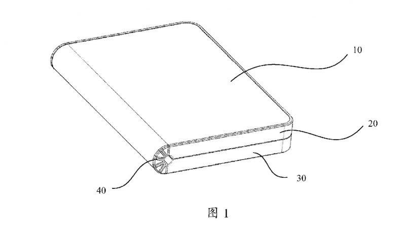Huawei Turut Mempatenkan Rekaan Peranti Dengan Skrin Boleh Lipat