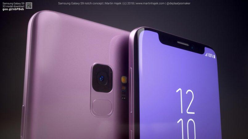 (Konsep) Ini Ialah Rupa Samsung Galaxy S9 Sekiranya Ia Berskrin Takuk