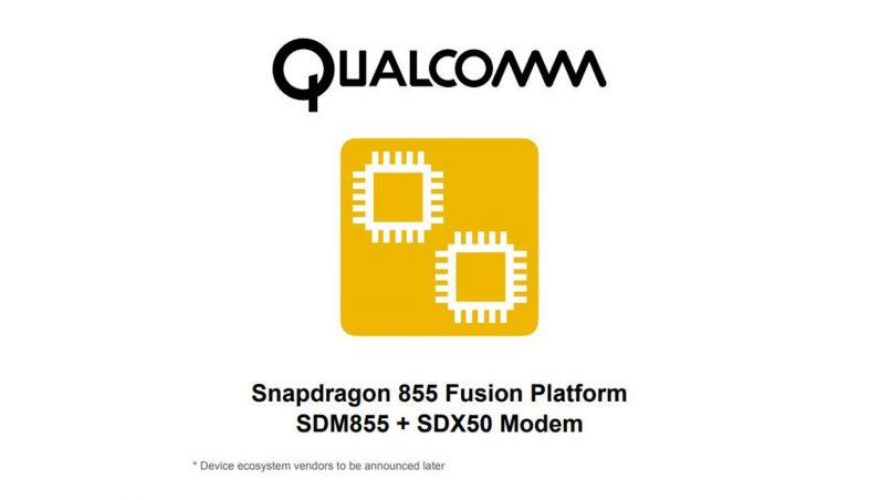 Pemproses Snapdragon 855 Fusion Platform Disahkan Sedang Dibangunkan