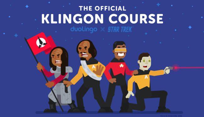 Duolingo Klingon