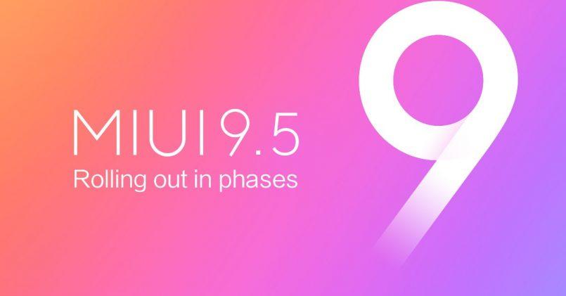 MIUI 9.5