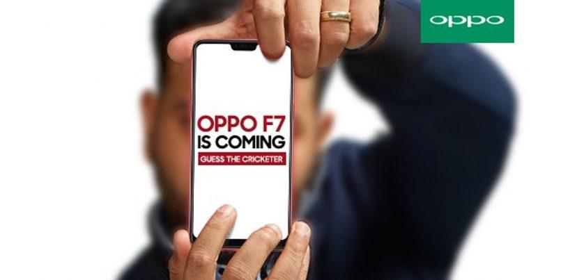Imej Acah Oppo F7 Menunjukkan Penggunaan Skrin Bertakuk