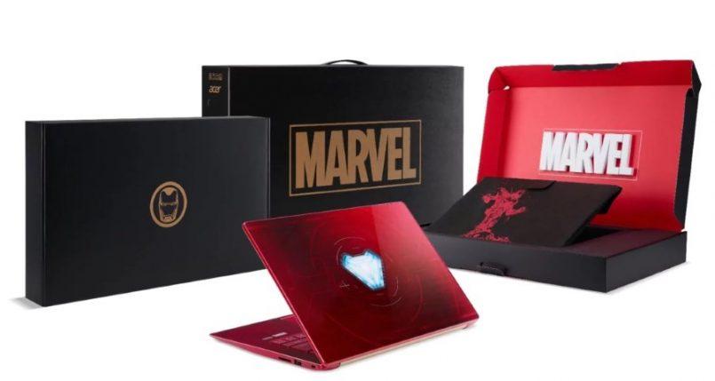 Laptop Acer Swift 3 Edisi Avengers Infinity War Iron Man Diperlihatkan