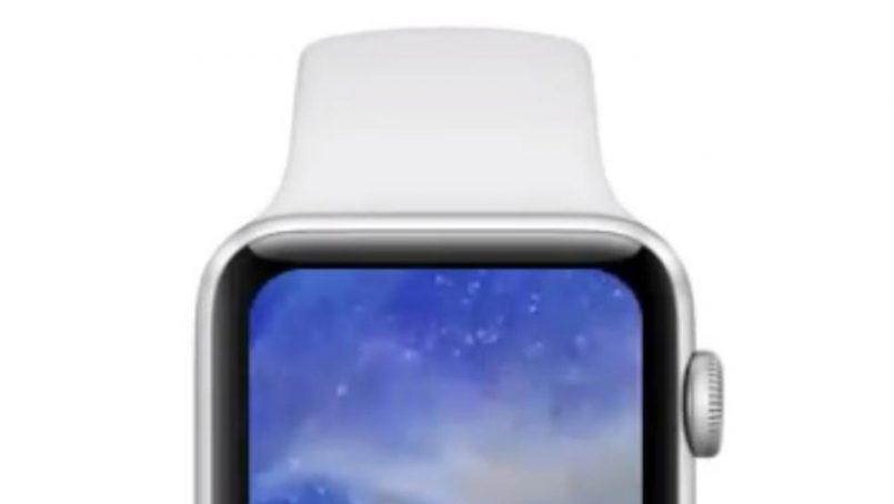 (Konsep) Ini Ialah Imej Pengolokan Apple Watch Series 4 Dengan Skrin Yang Lebih Besar