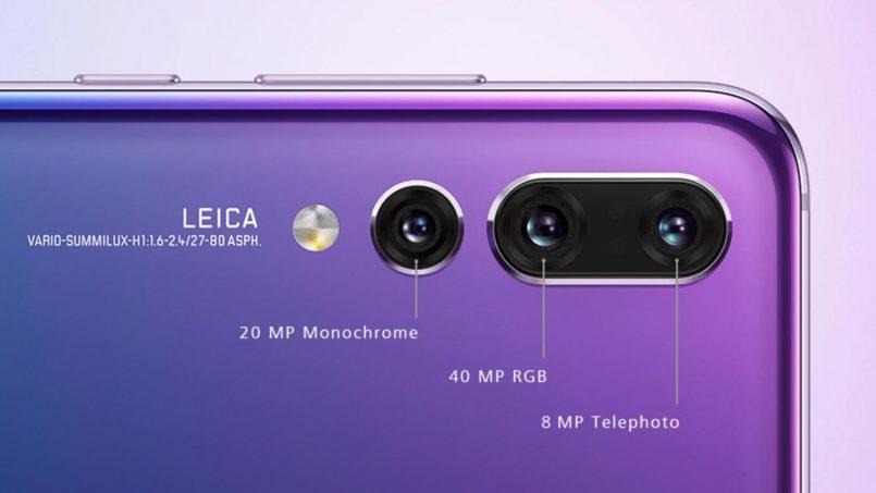 Huawei P20 Pro Sebenarnya Adalah Peranti Pertama Dengan Sistem OIS Pada Tiga Kamera