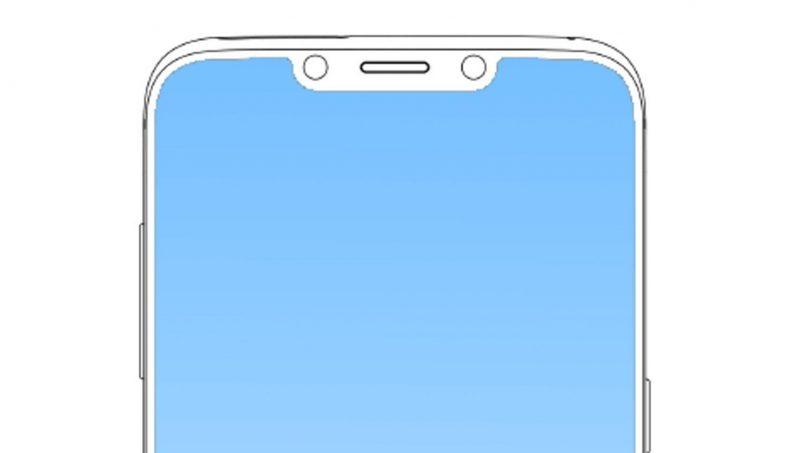 Samsung Mempatenkan Peranti Dengan Skrin Bertakuk Seakan iPhone X