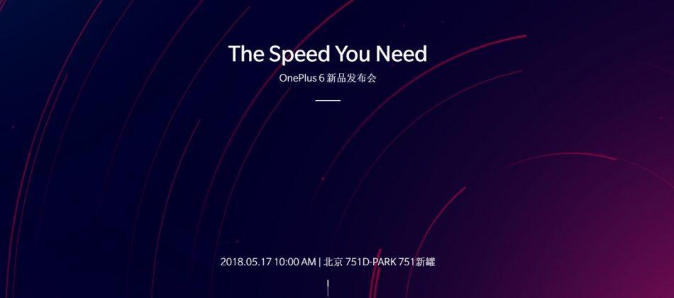 OnePlus 6 China