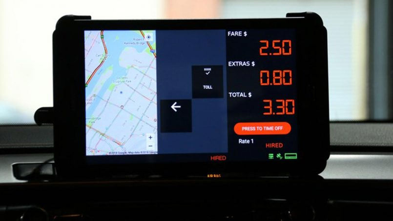 Teksi Di New York Mula Dilengkapi Tablet Android Untuk Kegunaan Pemandu Dan Penumpang