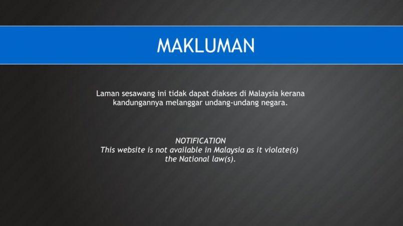 SKMM Telah Menyekat Hampir 3000 Laman Lucah Sejak 2018