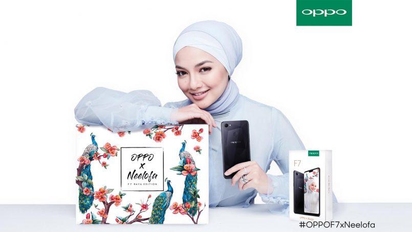 Oppo F7 X Neelofa Raya Edition Akan Dilancarkan Sempena Hari Raya