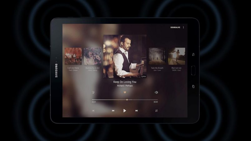 Samsung Galaxy Tab S3 Menerima Sokongan Audio Dolby Atmos Dengan Kemaskini Oreo