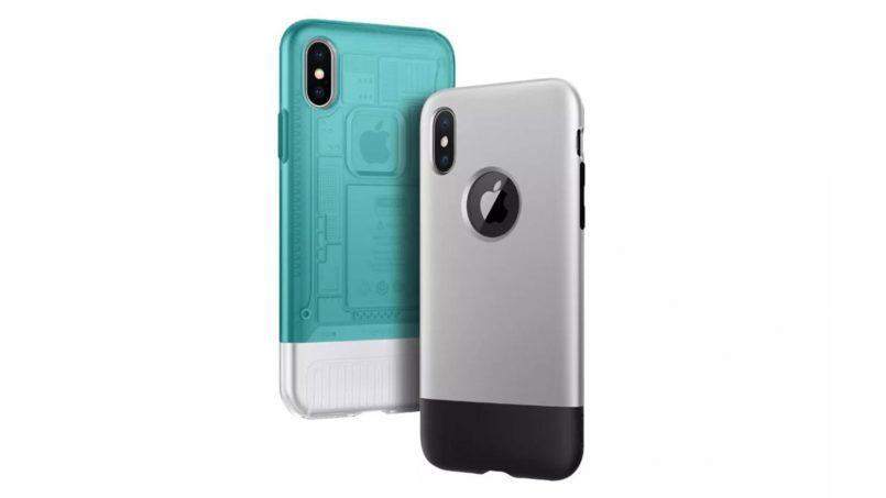 Kerangka Spigen Mengubah iPhone X Untuk Kelihatan Seperti iPhone 2G Dan iMac G3