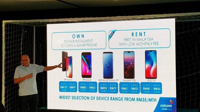 Celcom EasyPhone Rent