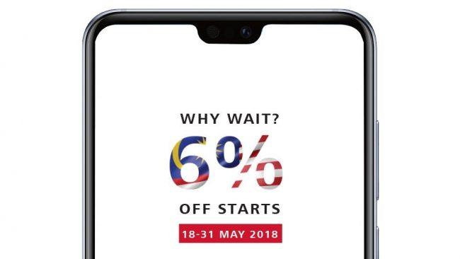Huawei GST 6 Peratus