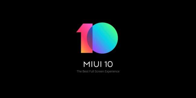 MIUI10