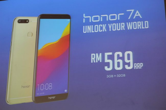 Honor 7A Shopee