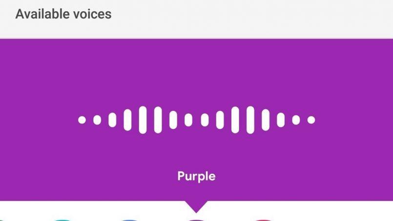 Google Bakal Memberi Nama Untuk Suara-Suara Google Assistant