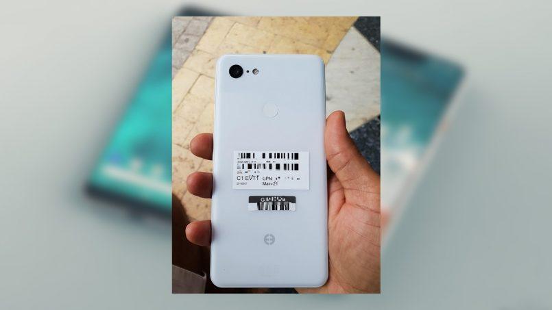Google Pixel 3 XL Clearly White Tertiris
