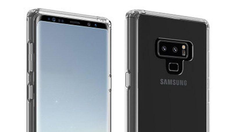 Rekaan Samsung Galaxy Note 9 Tertiris Dengan Kedudukan Pengimbas Cap Jari Diubah