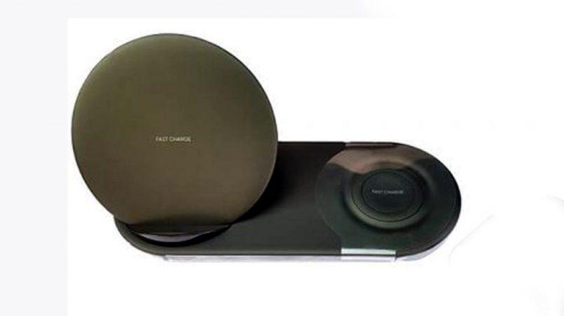 Rekaan Pengecas Samsung Wireless Charge Duo Tertiris Sepenuhnya