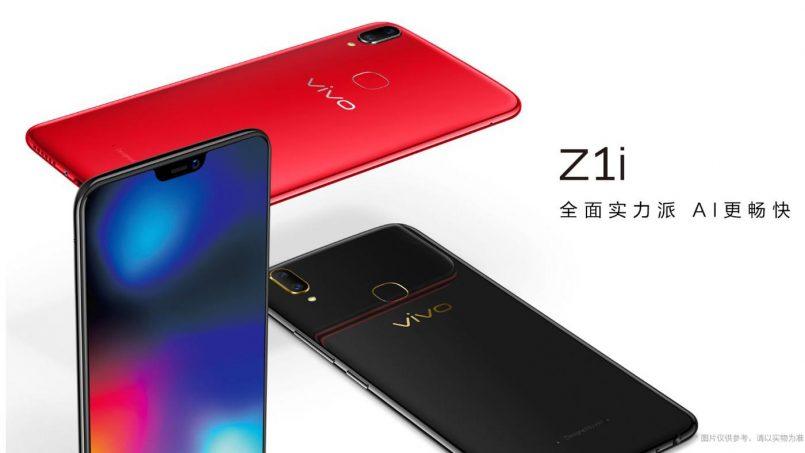 Vivo Z1i Dilancarkan Dengan Spesifikasi Lebih Rendah Berbanding Vivo Z1