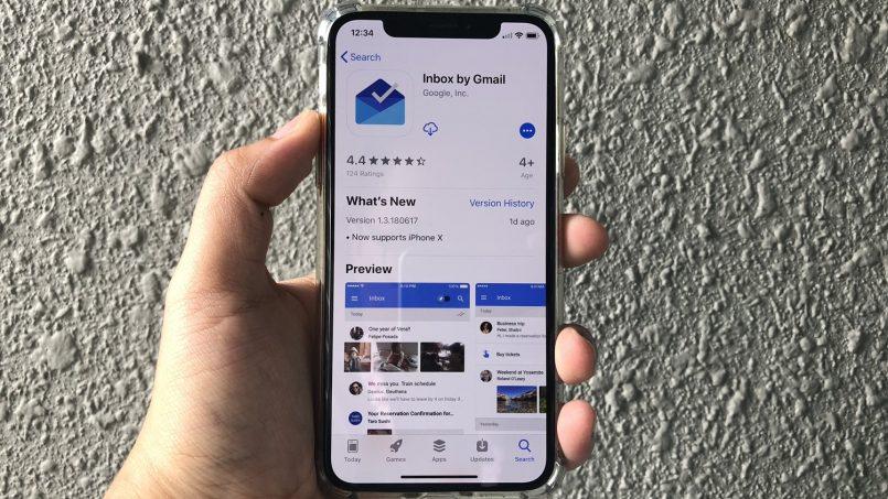 Aplikasi Google Inbox Kini Menyokong Apple iPhone X