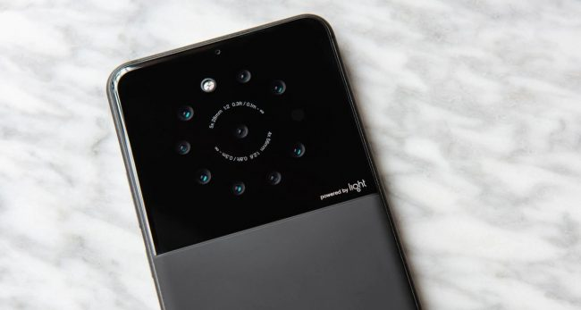 Light Telefon Sembilan Kamera