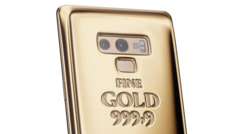 Samsung Galaxy Note 9 Yang Diperbuat Daripada 1 Kilogram Emas Ditawarkan Pada Harga RM 238000