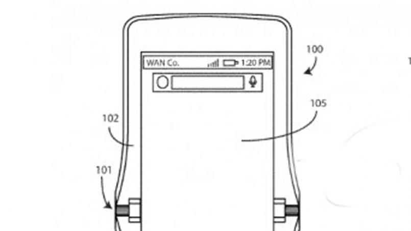 Motorola Turut Memfailkan Paten Untuk Telefon Dengan Skrin Boleh Lipat
