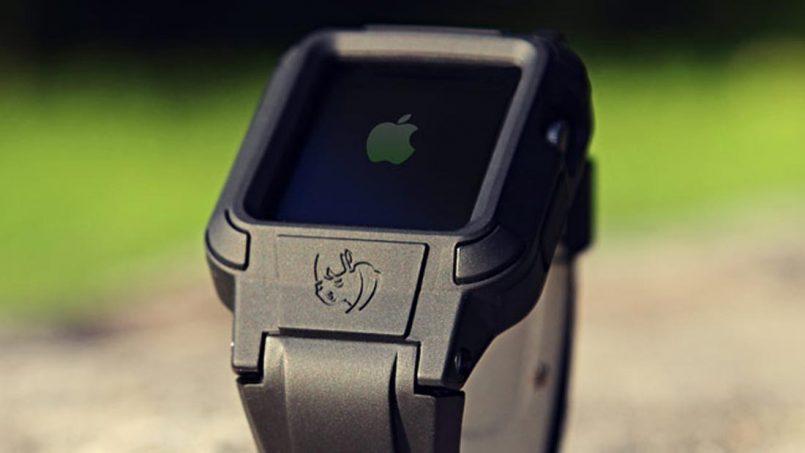Kerangka Rhinoband Mengubah Apple Watch Menjadi Jam Tangan Pintar Tahan Lasak