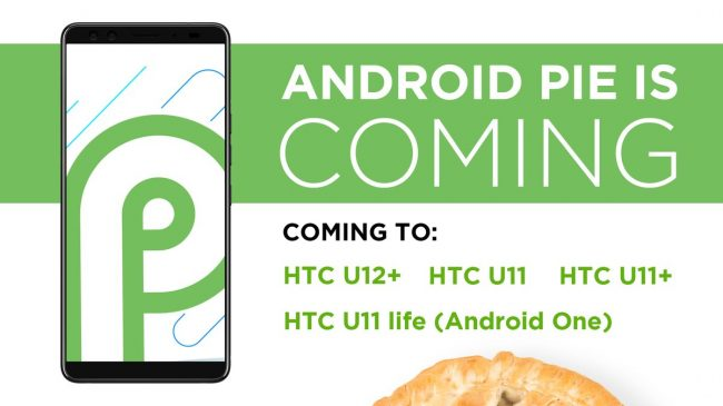 HTC Android Pie