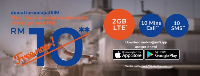 Unifi Mobile 2GB