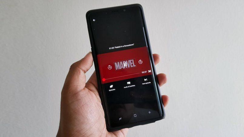 Netflix Menguji Pemain Video Posisi Menegak Pada Peranti Android