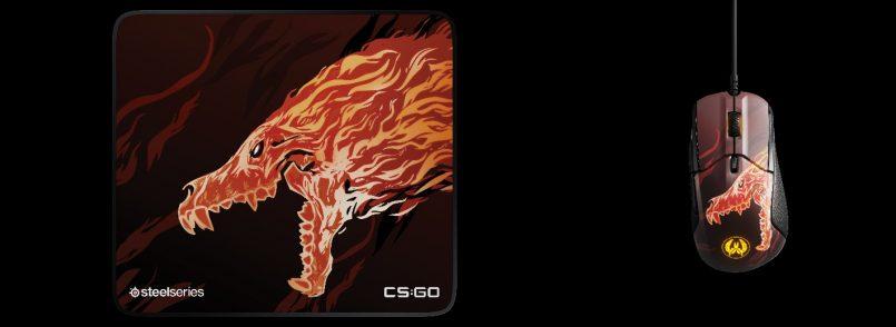 SteelSeries Memperkenalkan Siri Aksesori Gaming CS:GO Howl Edition Berdasarkan Hiasan Senjata M4A4 Howl