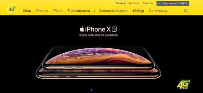 Digi iPhone XS