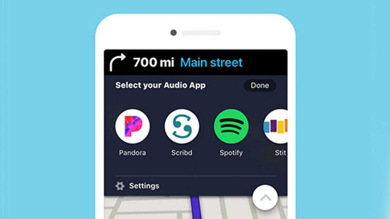 Waze Audio Player Menambah Tujuh Lagi Perkhidmatan Penstriman Audio Secara Terbina