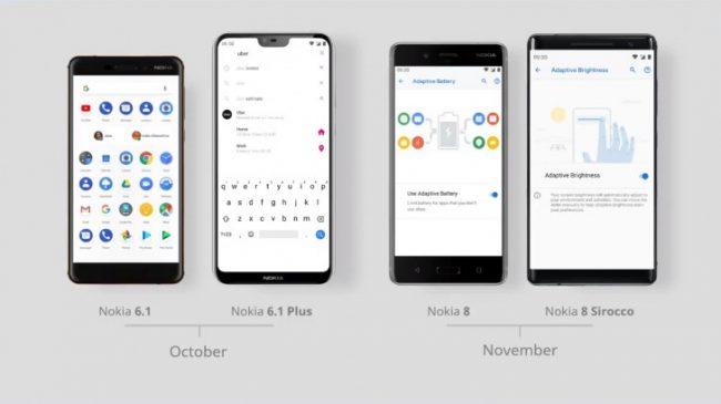 Nokia Android Pie Oktober