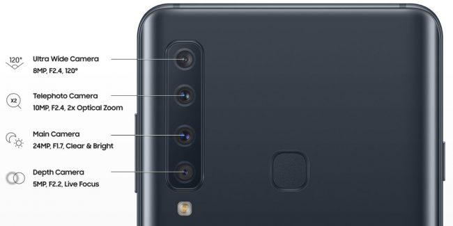 Samsung Galaxy Empat Kamera