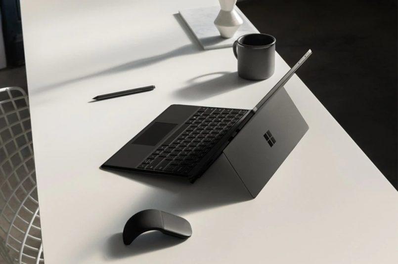 Microsoft Surface Pro 6 Diperkenalkan Dengan Rekaan Berwarna Hitam