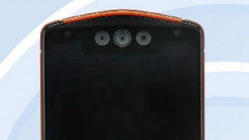 Rekaan Meitu MP1801 Tertiris Dengan Tri-Kamera Swafoto