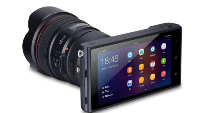 Yongnuo YN450 Ialah Kamera Nircermin Android Dengan Sokongan Lensa Tambahan