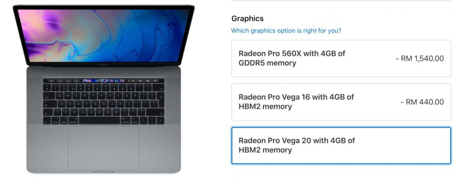 MacBook AMD Vega
