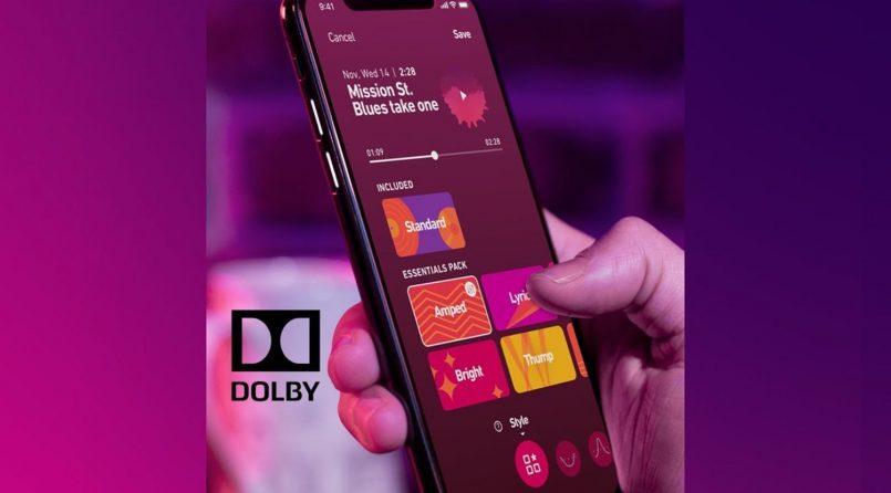 Dolby Menguji Aplikasi Audio Terimbuh '234' – Ibarat VSCO Untuk Audio