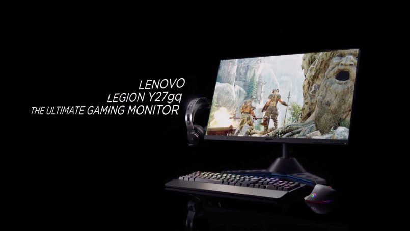 Monitor Lenovo Legion Y27gq Dan Y44w Dilancarkan Dengan Kadar Segar Semula 240Hz